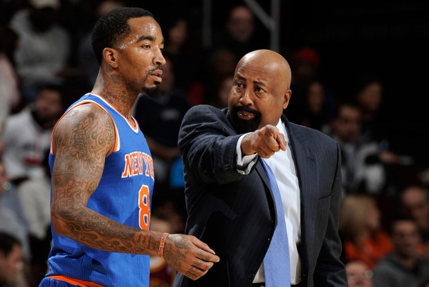 J.R. Smith y Mike Woodson./ Getty Images