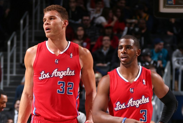 Blake Griffin y Chris Paul./ Getty Images