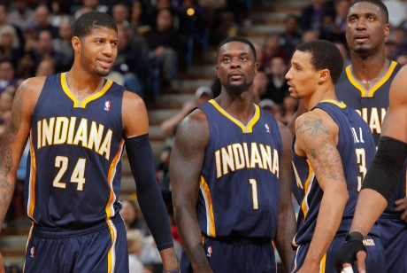 Indiana Pacers./ Getty Images