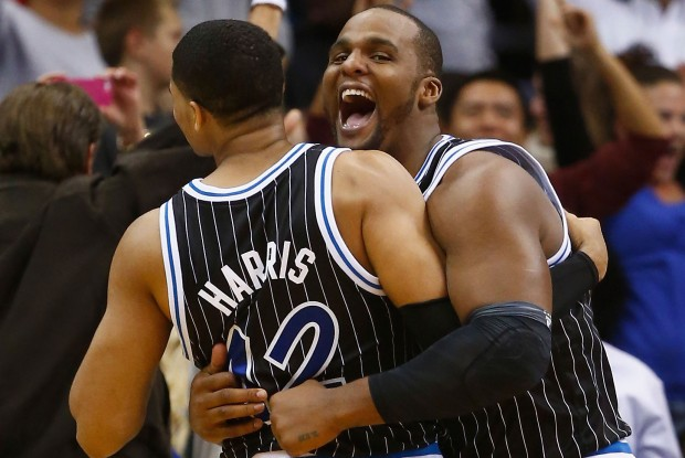 Tobias Harris y Glen Davis./ Getty Images