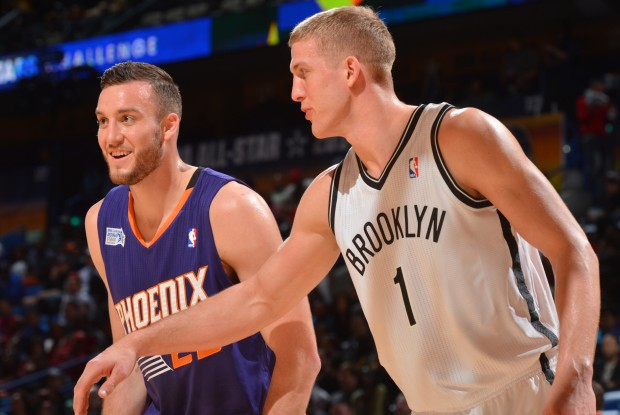 Miles Plumlee y Mason Plumlee./ Getty Images