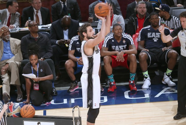Marco Belinelli.& Getty Images