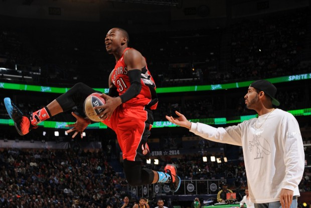 Terrence Ross y Drake./ Getty Images