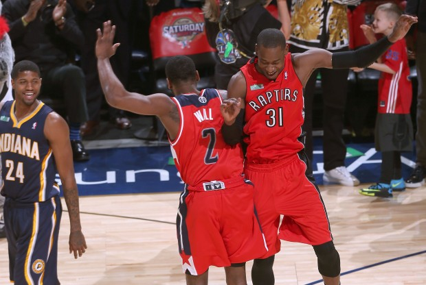 John Wall y Terrence Ross./ Getty Images