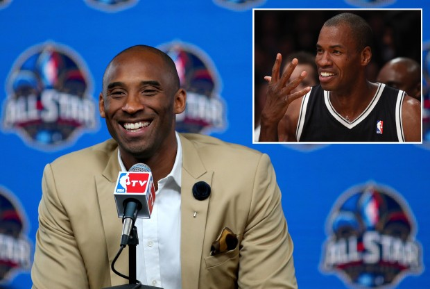 Kobe Bryant y Jason Collins./ Getty Images