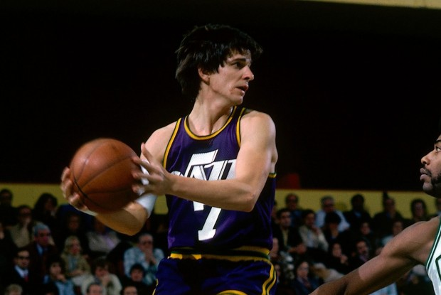 Pistol Pete Maravich./ Getty Images