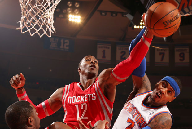 Dwight Howard y Carmelo Anthony / Getty Images