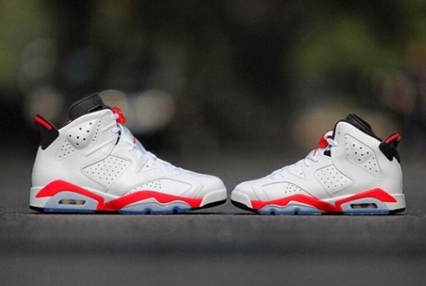 Air Jordan 6 'White/Infrared'