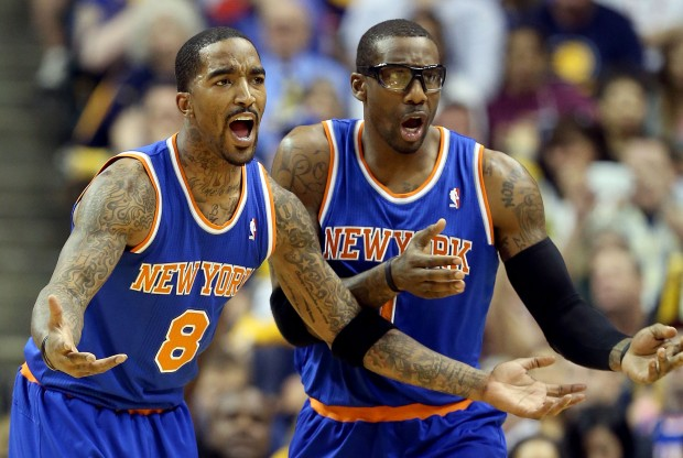 J.R. Smith y Amar'e Stoudemire./ Getty Images