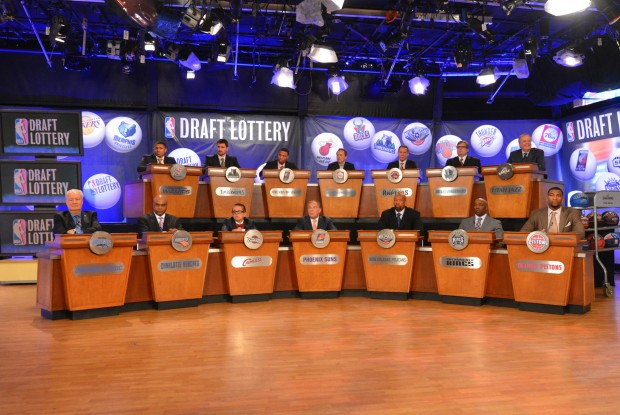 NBA Draft Lottery./ Getty Images