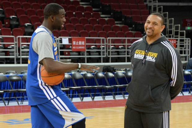 Draymond Green y Mark Jackson./ Getty Images