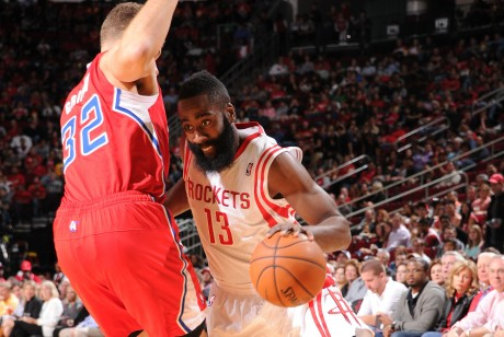 Blake Griffin y James Harden./ Getty Images