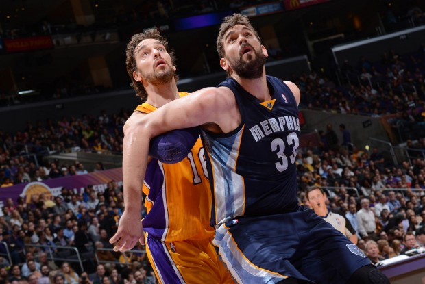 Los hermanos Gasol./ Getty Images