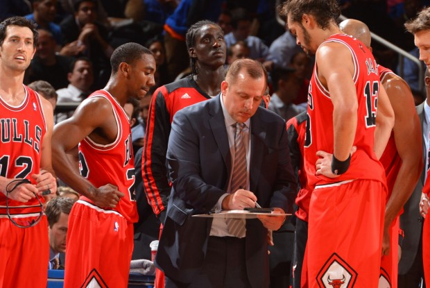 Tom Thibodeau./ Getty Images