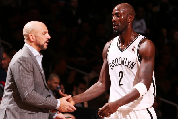 Jason Kidd y Kevin Garnett./ Getty Images