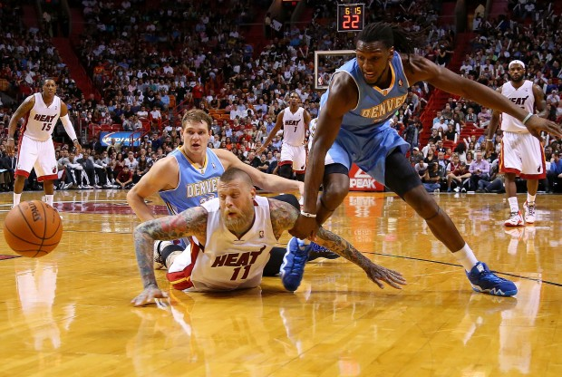 Denver Nuggets vs. Miami Heat./ Getty Images