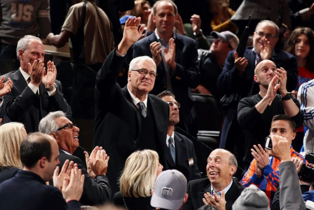Phil Jackson./ Getty Images