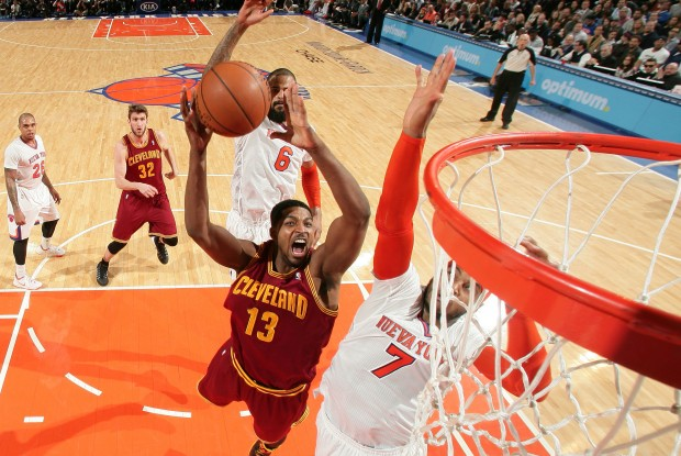 Cleveland Cavaliers vs. New York Knicks./ Getty Images