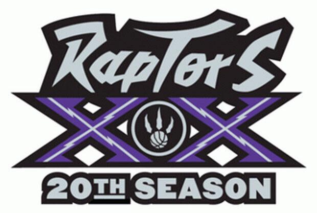 Toronto Raptors presenta el logo de su vigésimo aniversario