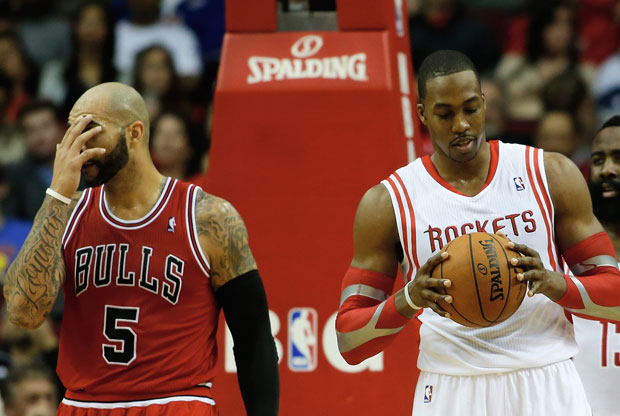 Carlos Boozer y Dwight Howard / Getty Images