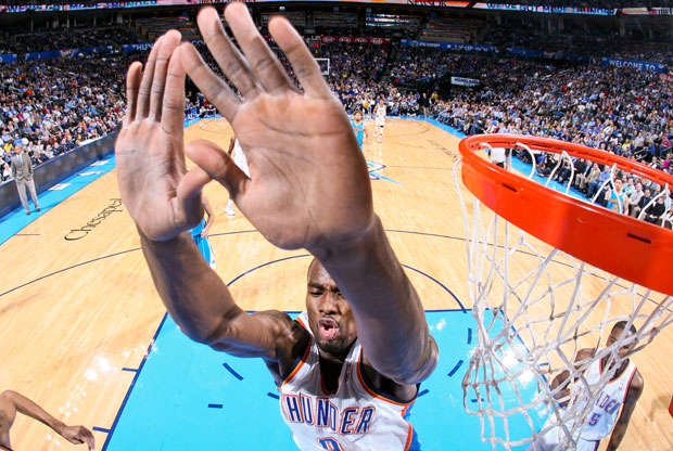 Serge Ibaka / Getty Images