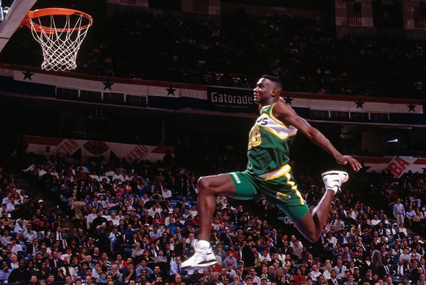 Shawn Kemp./ Getty Images