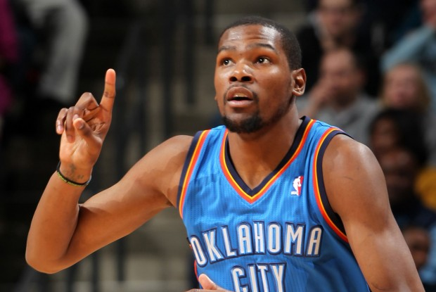 Kevin Durant./ Getty Images