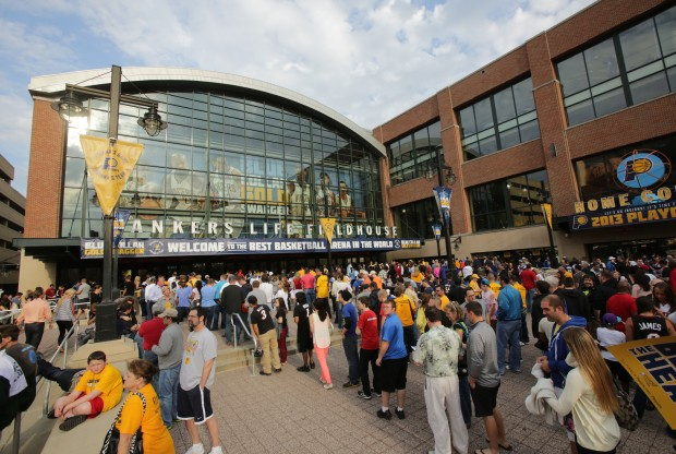 Bankers Life Fieldhouse./ Getty Images