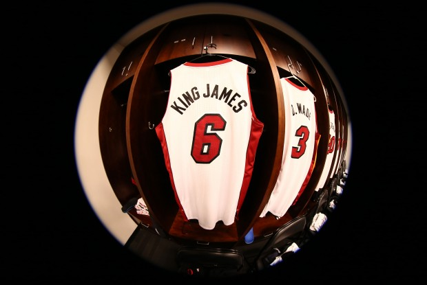 LeBron James y Miami Heat, líderes en ventas