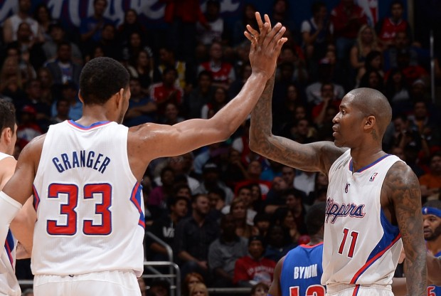 Jamal Crawford y Danny Granger./ Getty Images