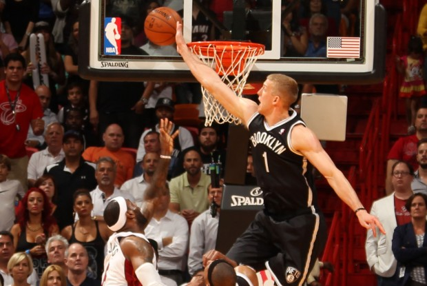 Mason Plumlee./ Getty Images