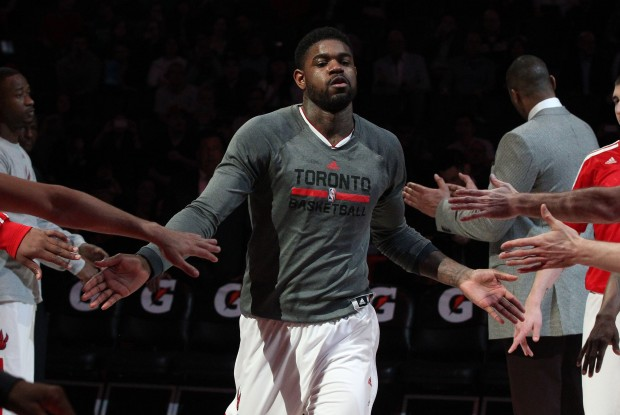Amir Johnson./ Getty Images