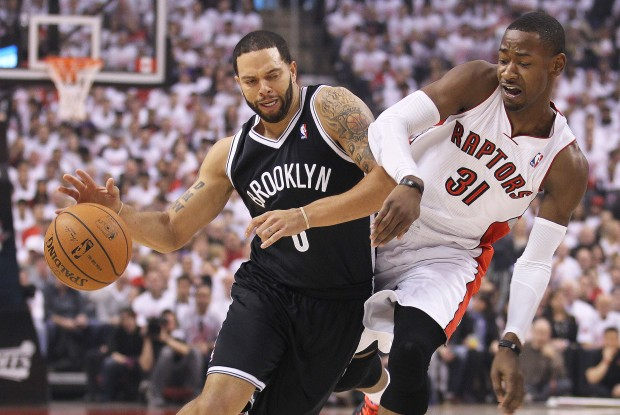 Deron Williams y Terrence Ross./ Getty Images