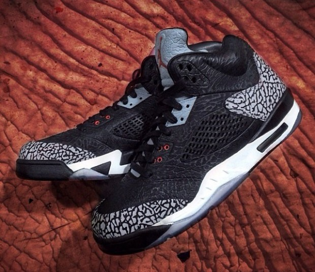 Air Jordan 3 Lab5 'Black Cement'