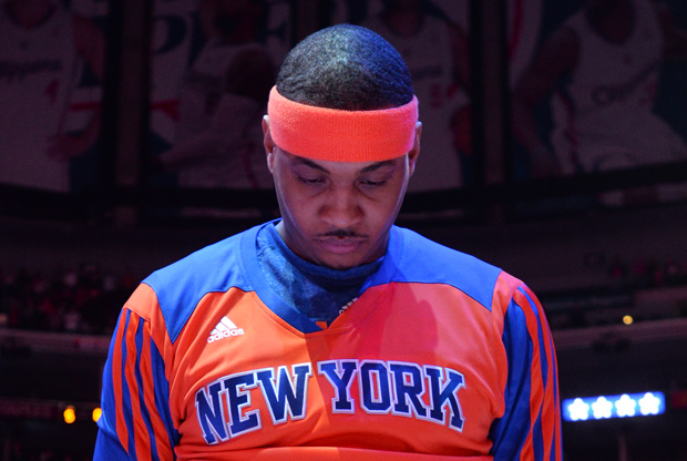 Carmelo Anthony no ve claro su futuro