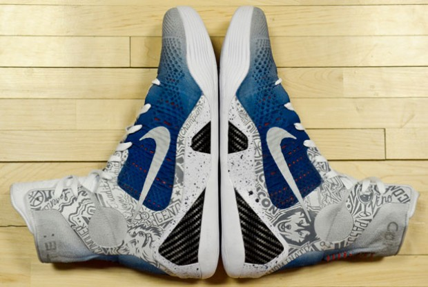 Nike - Kobe 9 Elite 'UConn Edition'