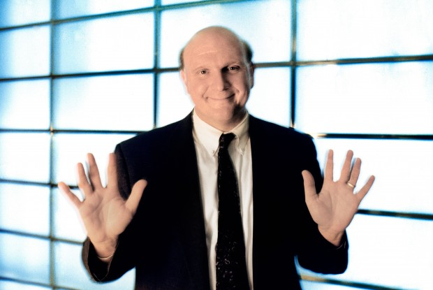 Steve Ballmer./ Getty Images