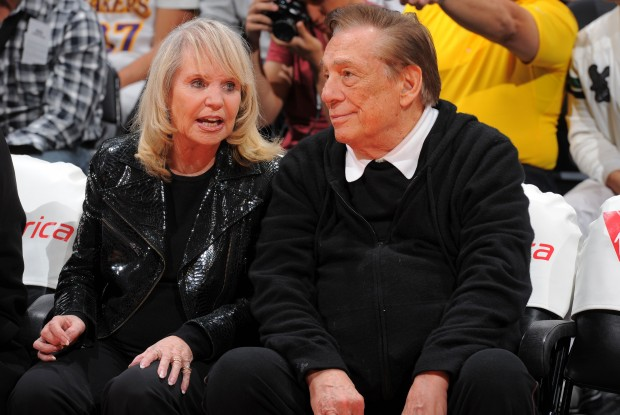 Donald Sterling y su mujer Shelly./ Getty Images