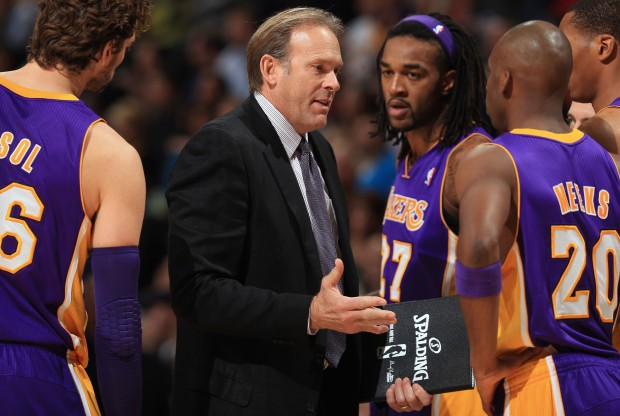 Kurt Rambis./ Getty Images
