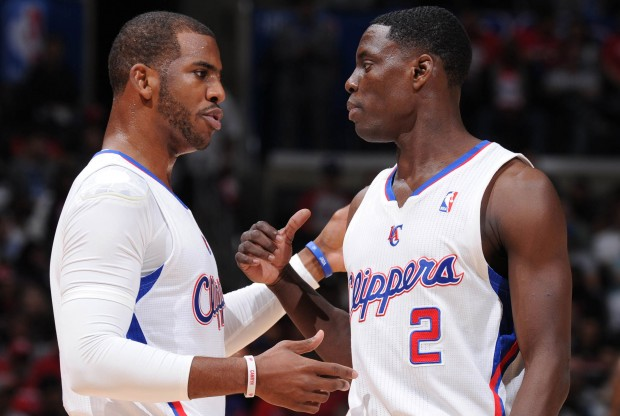 Chris Paul y Darren Collison./ Getty Images