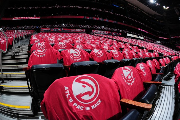Atlanta Hawks Logo./ Getty Images