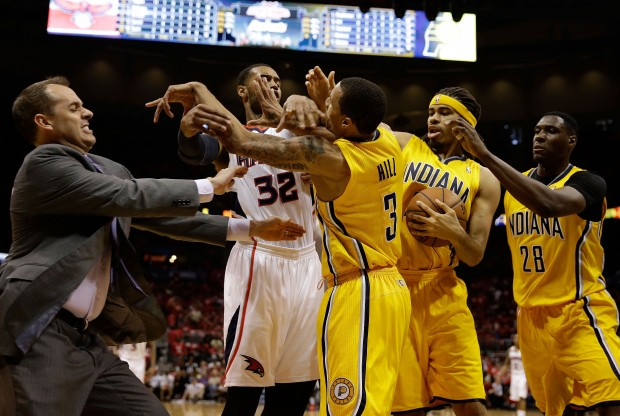 Indiana Pacers vs. Atlanta Hawks./ Getty Images