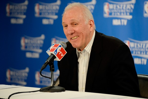 Gregg Popovich./ Getty Images