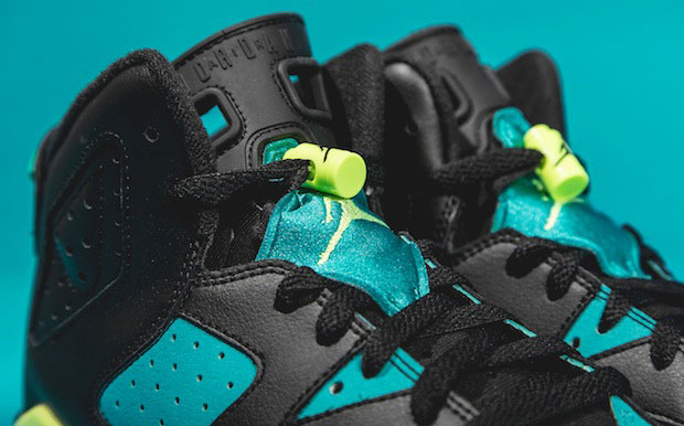 Air Jordan 6 GS 'Turbo Green'