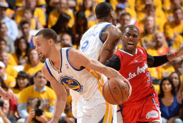 Stephen Curry y Chris Paul / Getty Images