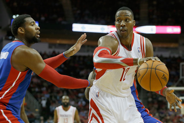 Andre Drummond y Dwight Howard / Getty Images