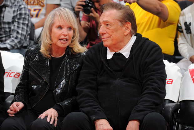 Shelly y Donald Sterling / Getty Images