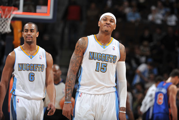 Carmelo Anthony, Arron Afflalo / Getty Images