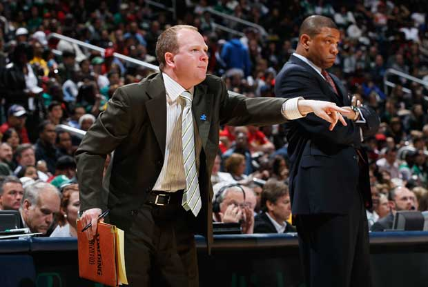 Lawrence Frank y Doc Rivers / Getty Images