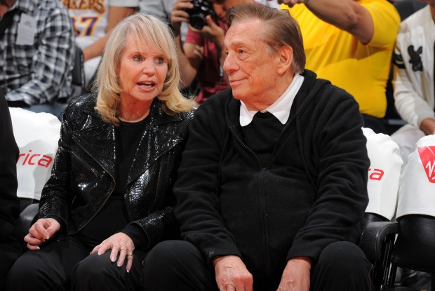 Donald Sterling y su esposa Shelly./ Getty Images